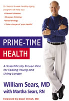 Prime-Time Health, by William Sears, MD, 446 pgs., Paperback
