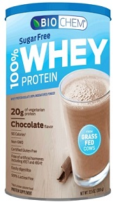 Chocolate Whey Protein, Sugar Free, 12.5 oz - 14 Servings