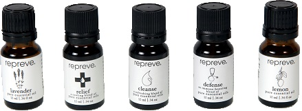 REPREVE Essential Oils Basic Starter Set